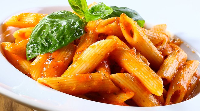 Penne, pennette, pennoni! Smooth, striped, half, and candle-shaped…