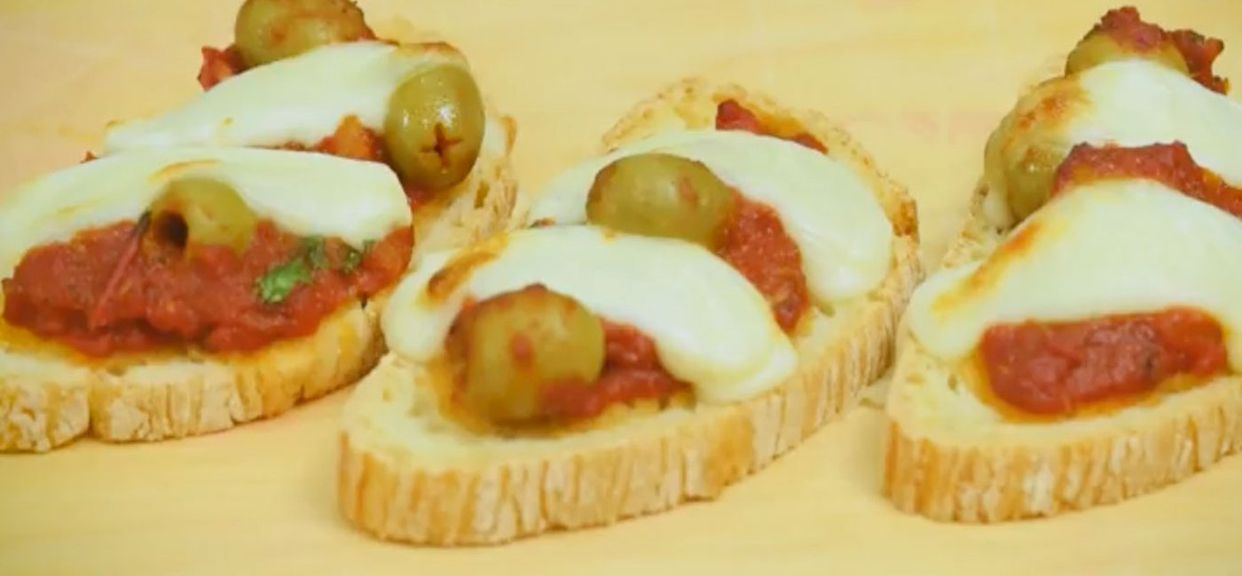 Tomatoe and anchovy bruschetta